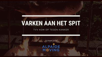 Alpaïde Moving organiseert Varken aan het spit