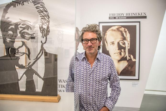 Interviewer Frenk van der Linden en zijn nieuwe expo Hollandse Helden.