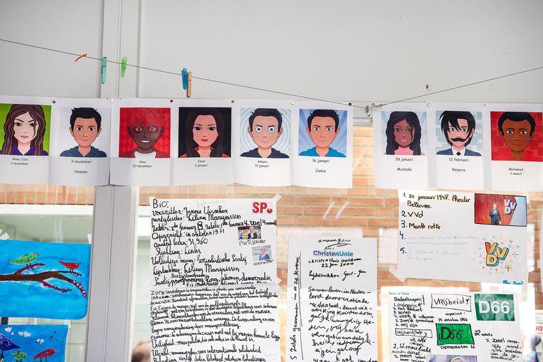 Bij basisschool Het Atelier stond kansengelijkheid altijd al hoog op de agenda, volgens directeur Jan Heijmans. Beeld Guus Dubbelman / de Volkskrant