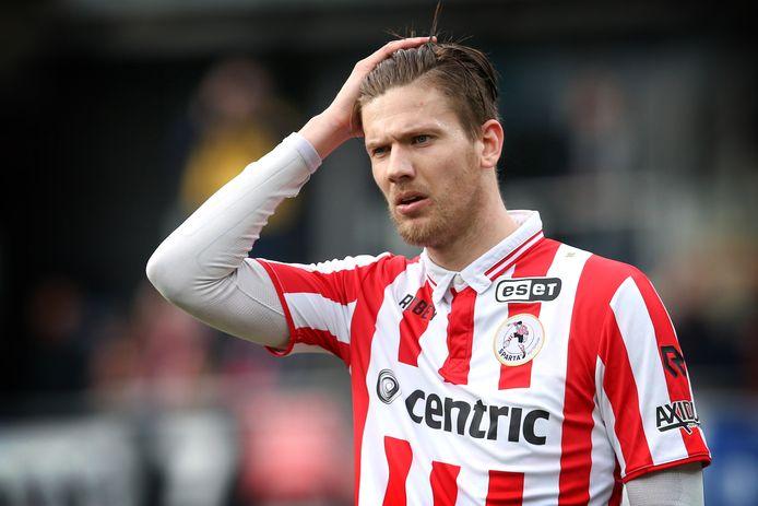 Sparta-speler Michiel Kramer