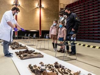 Veel belangstelling voor gevonden beenderen in Nieuwdonk