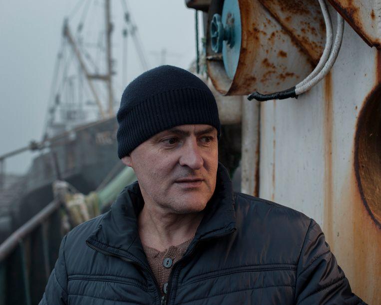 Kapitein Igor Bozjkov. Beeld Emile Ducke