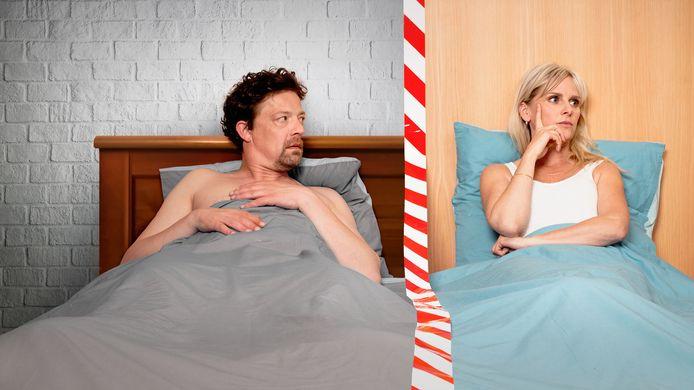 Ben Segers speelt de hoofdrol in '#hetisingewikkeld', de komische reeks die geregisseerd wordt door zijn vrouw Lenny Van Wesemael.