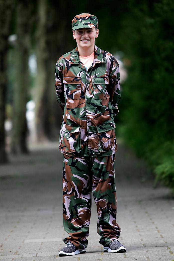 Zijn jongeren te paaien voor werken bij Defensie? Jaydy Boon.