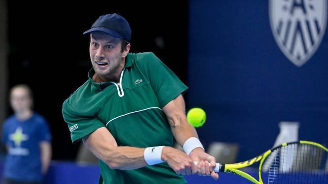 Van de Zandschulp wint laatste partij van de dag op European Open