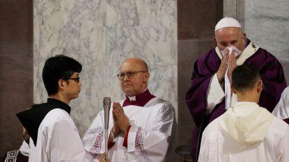 Paus Franciscus nog steeds onwel, zegt ook vandaag afspraken af
