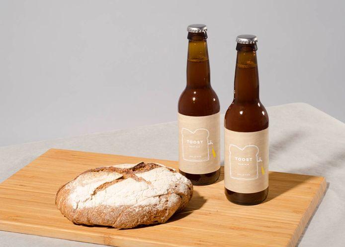 Bier van afgedankt brood.