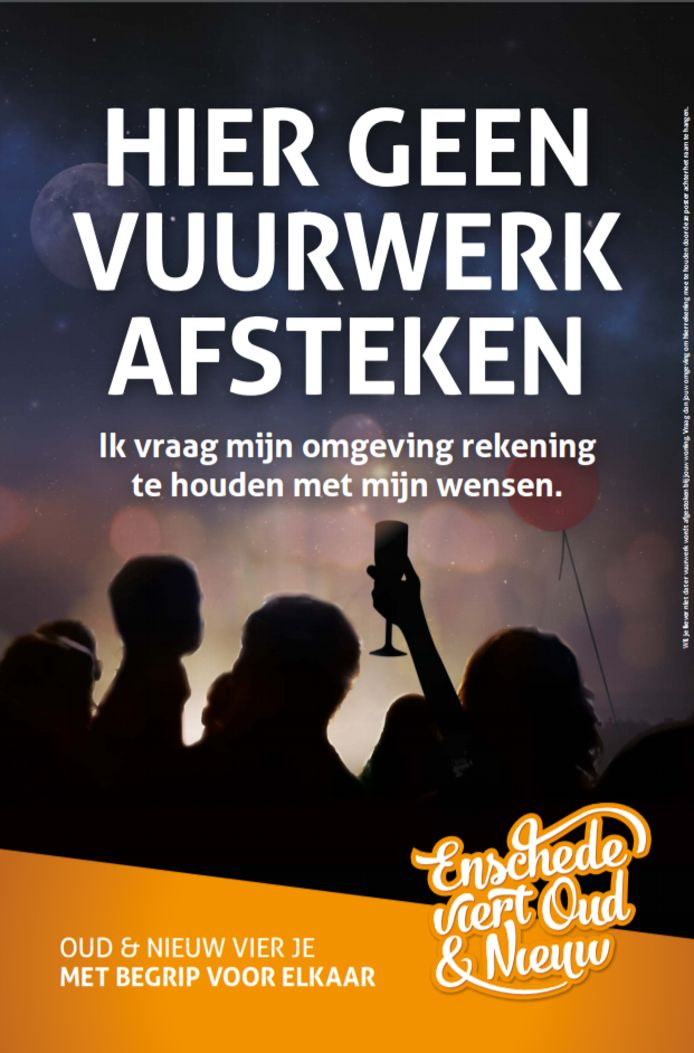 Vuurwerkcampagne gemeente Enschede