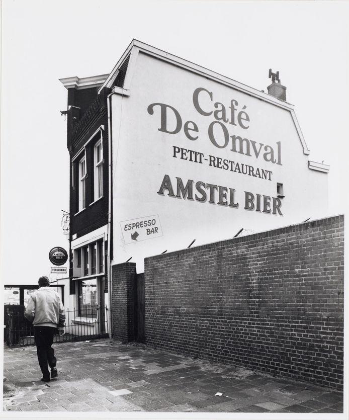 Café De Omval in 1987.