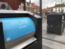 Middelburg haalt karton van ondernemers binnenstad niet meer gratis op