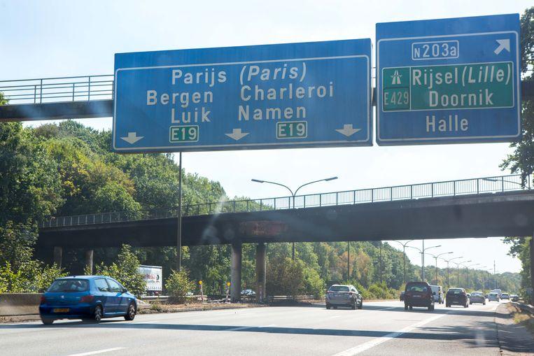De brug over de Brusselse Ring aan Drasop is al sinds begin augustus vorig jaar afgesloten na een ongeval met een vrachtwagen.