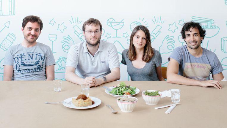 Take Eat Easy laat eten aan huis bezorgen met fietskoeriers.