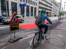 La rue de la Loi amputée d'une bande de circulation pour élargir les pistes cyclables