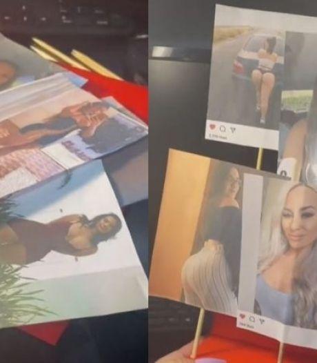 Pour la Saint-Valentin, elle offre à son mari toutes les photos de femmes qu'il a likées sur Instagram