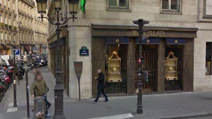 Overvallers maken miljoenen buit bij juwelier in Parijs