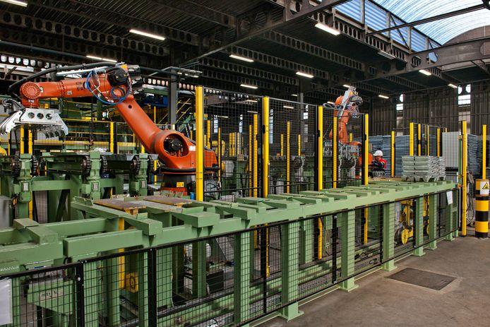 De nieuwe gietlijn wordt een verlengde van de bestaande smelterij in Pelt.