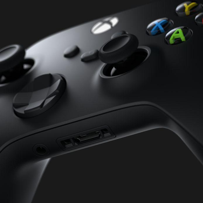 De controller van de Xbox Series X.