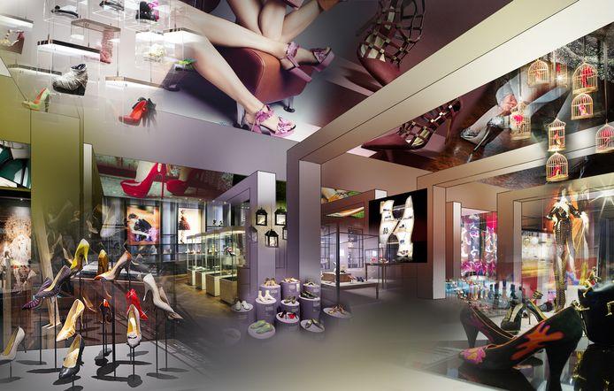 Het toekomstige schoenenmuseum moet eind 2021 de deuren openen.