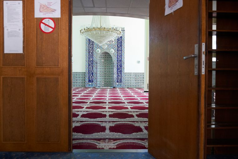 De Sultan Ahmed Moskee in Delft. Beeld Phil Nijhuis