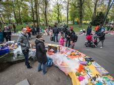 Het is stil op de Grote Markt in Breda zonder podia met live-muziek