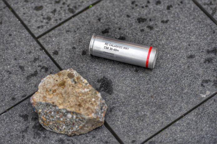 Er werd stenen en rookbommen gegooid.