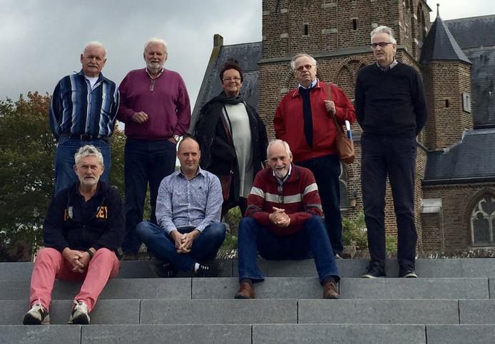 Leden van het Erfgoedplatform Mook en Middelaar.