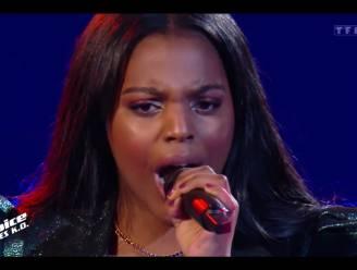 Geen Vlaamse stunt in Franse finale van 'The Voice': Mentissa Aziza uit 'The Voice Kids' wordt pas derde