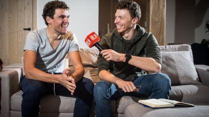 """Naesen interviewt trainingsmakker Van Avermaet over zijn wonderjaar: """"Zeg, Greg, werkt de koers erotiserend?"""""""