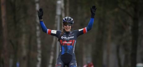 Brand en Van Aert winnen Zilvermeercross