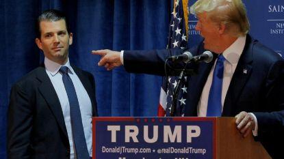 """Trump bekent voor het eerst: zoon ontmoette Russische advocate """"om informatie te weten te komen over tegenstander"""""""