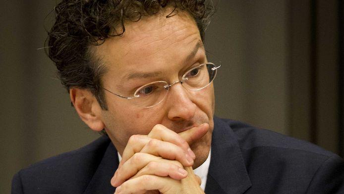 Jeroen Dijsselbloem, de Nederlandse voorzitter van de eurogroep.