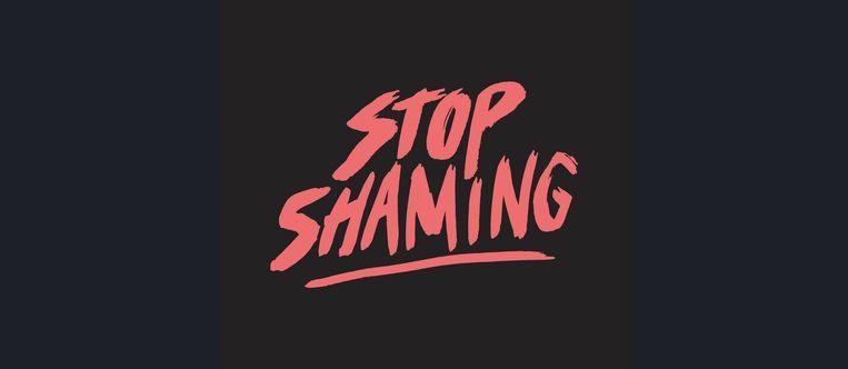 Campagnebeeld Stop Shaming.  Beeld