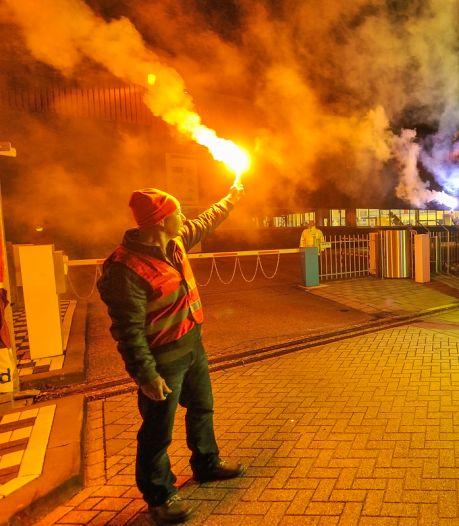 Honderden metaalarbeiders staken vandaag voor hoger loon: 'Het is tricky om te staken'