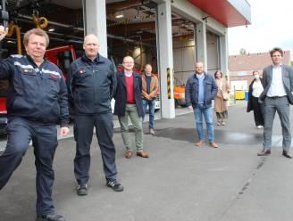 """Brandweerpost Kaprijke voelt zich meteen thuis in nieuwbouw van 1,8 miljoen euro: """"Sneller ter plaatse bij interventies"""""""