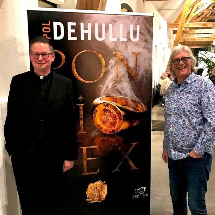 Pol Dehullu met Pieter Aspe
