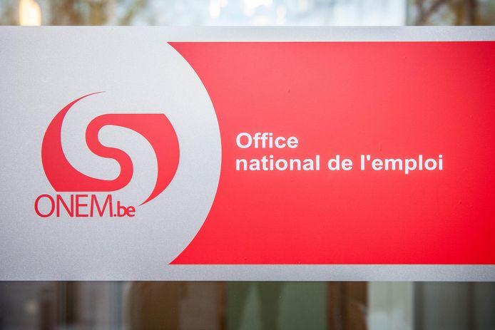 Bureau de l'ONEM à Nivelles (archives).     PICTURE NOT INCLUDED IN THE CONTRACT