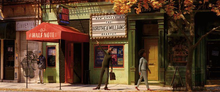 Still van de vrolijke animatiefilm Soul.  Beeld Pixar