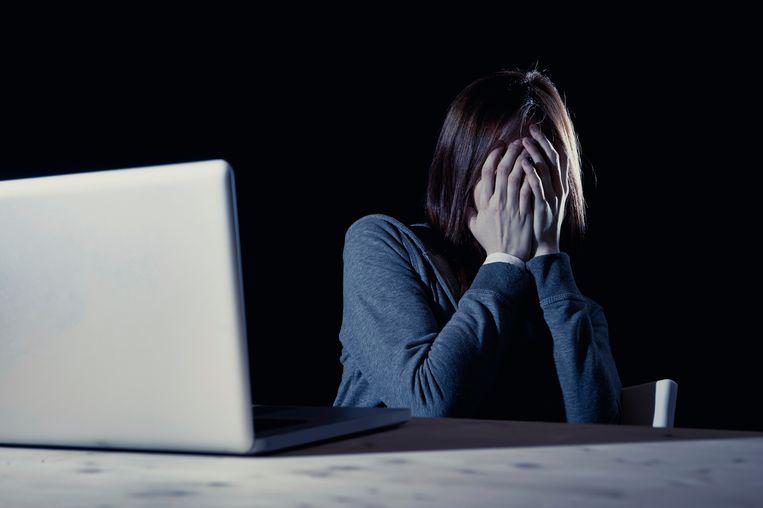 'Tijdens de eerste lockdown bleek uit onderzoeken een forse toename van depressieve gevoelens en sociaal isolement', zegt de Vlaamse Vereniging van Studenten. Beeld Thinkstock