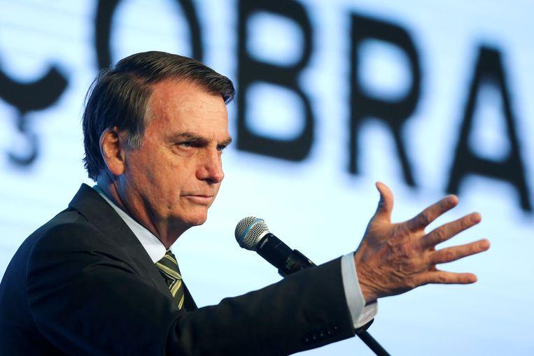 Braziliaans president Jair Bolsonaro. Beeld REUTERS
