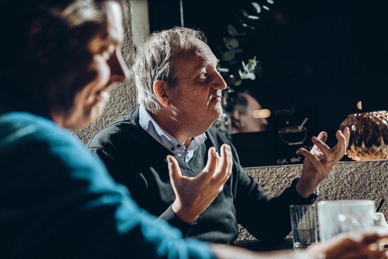 """Jan Callebaut: """"De N-VA staat op een kruispunt. Ze zijn doorgedrongen in het weefsel van de macht. Dat moeten ze nu verder uitbouwen."""" Beeld Thomas Sweertvaegher"""