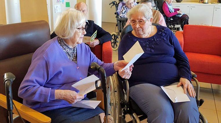 Stanske en Gusta van woonzorgcentrum Czagani krijgen post.