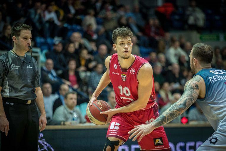 Hans Vanwijn van de Antwerp Giants.