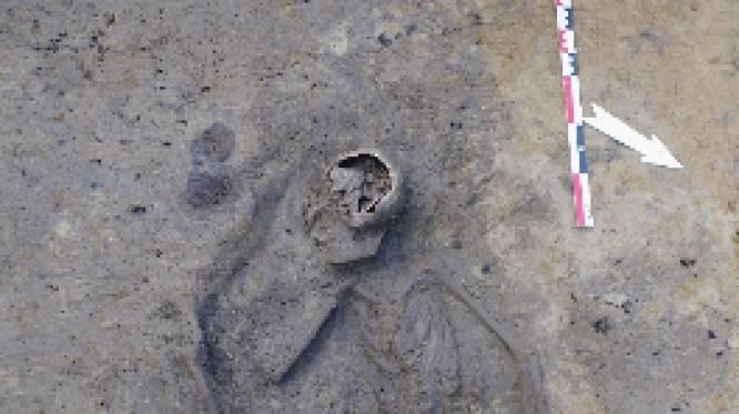 Oudste Aalsterse menselijke resten gevonden bij archeologische opgravingen DvM Basis