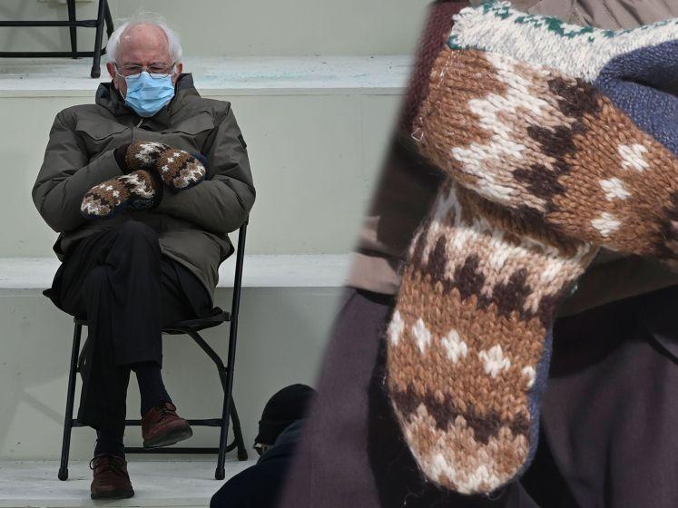 Bernie Sanders zamelt bijna 1,5 miljoen euro in door populaire wanten