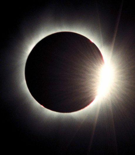Perfect weer om de gedeeltelijke zonsverduistering te bekijken