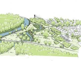 Stad stelt voorontwerp Heirbrugpark voor via maquette