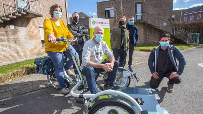 Wereldrecord Geert De Mulder levert rolstoelfiets van enkele duizenden euro's op voor Zonnelied
