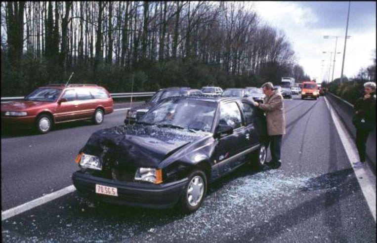 Zwarte auto's zijn veel vaker dan witte wagens bij ongevallen betrokken