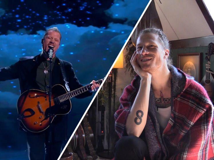 Robin uit Oss speelt lied voor zijn vader in finale We Want More: 'Heeft zijn hele leven in het leger gezeten'