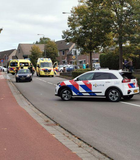 Ongeluk in Veenendaal: auto botst op fietser